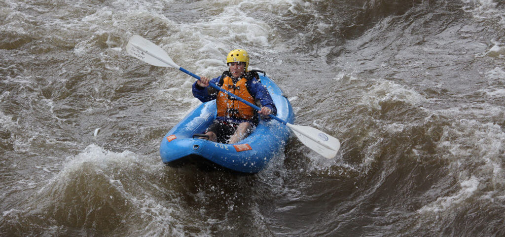 Guided Inflatable Kayak Adventure